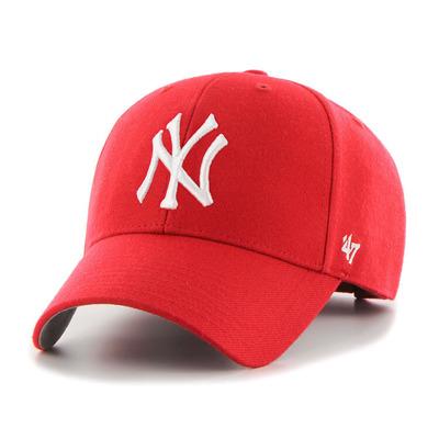 Czapka 47 Brand New York Yankees B-MVP17WBV-RD